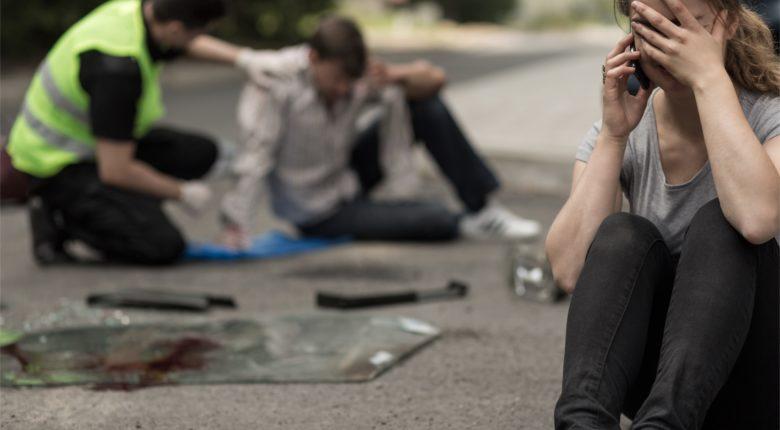 Accident voiture - pieton victime - les bons réflexes